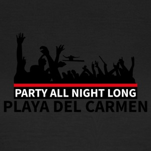 Playa del Carmen - Party - Dame-T-shirt