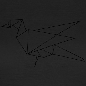 origami bird - Women's T-Shirt