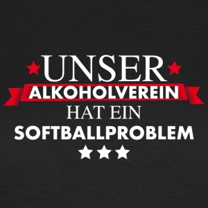 Softball Teamshirt - Frauen T-Shirt