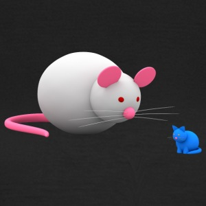 Cat and mouse, sometimes vice versa - Women's T-Shirt