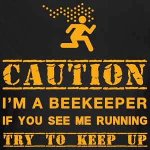 Warning: beekeeper - Women's T-Shirt