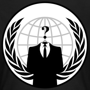 AnonymousLegion - T-skjorte for kvinner