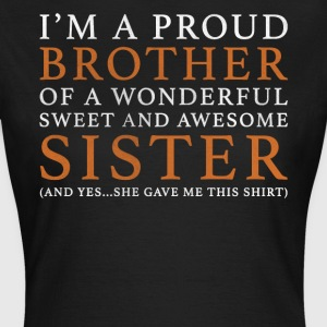 Original Brother Sister Gift: Order Here - Women's T-Shirt