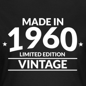 Made in 1960 - Limited Edition - Vintage - Frauen T-Shirt