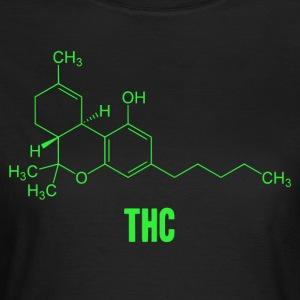 Molécula THC - Camiseta mujer