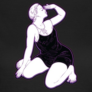 pin up actress - Vrouwen T-shirt