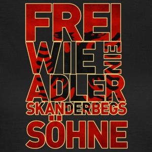Skanderbegs Söhne - Frauen T-Shirt