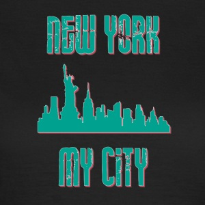 New York City Min stad MY CITY - T-shirt dam