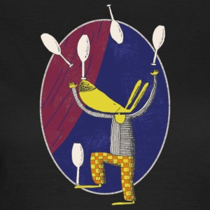 Rabbit Juggler 001 - Women's T-Shirt