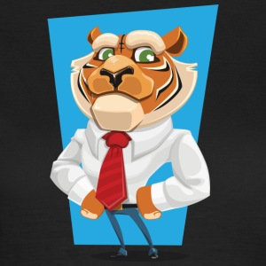 tiger in suit - Women's T-Shirt