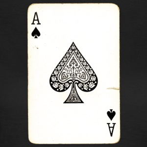 Spel Card Ace Of Spades - T-shirt dam