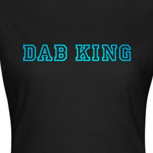 dab dabbing King Football touchdown cool fun sport - Women's T-Shirt