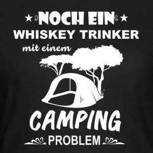 Camping Camper drinkers - Vrouwen T-shirt