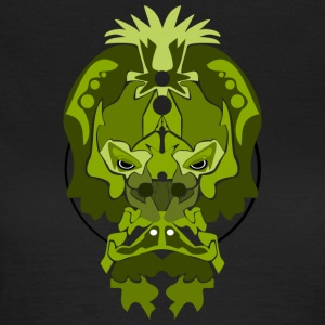 Jade Monkey Demon - Dame-T-shirt