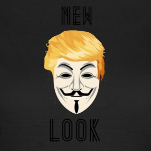 Ny Look Gennemsigtig / Anonym Trump - Dame-T-shirt