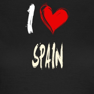 I love spain - Frauen T-Shirt