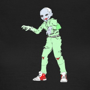 Zombie Collection: Zombie Man - Dame-T-shirt
