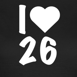 Darts - I Love 26 - Frauen T-Shirt