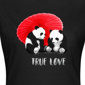 panda love fun love forever - Women's T-Shirt