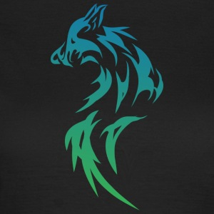 Wolf Tribal - T-shirt dam