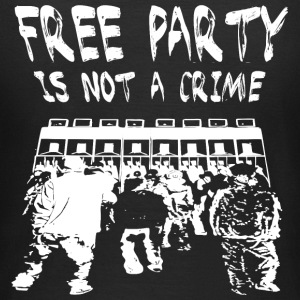 Free party is not a crime - Women's T-Shirt