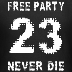 Free party never the 23 - Women's T-Shirt