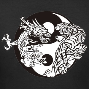 Ying Yang Tiger Dragon - Women's T-Shirt