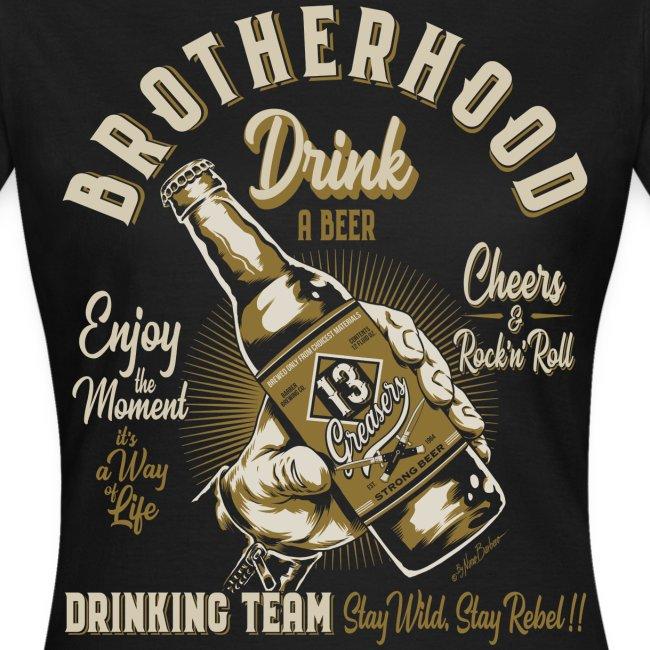 Hermandad y cerveza
