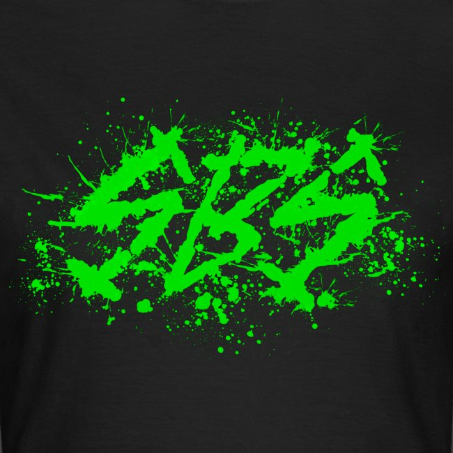 SBS Splatter Green Logo