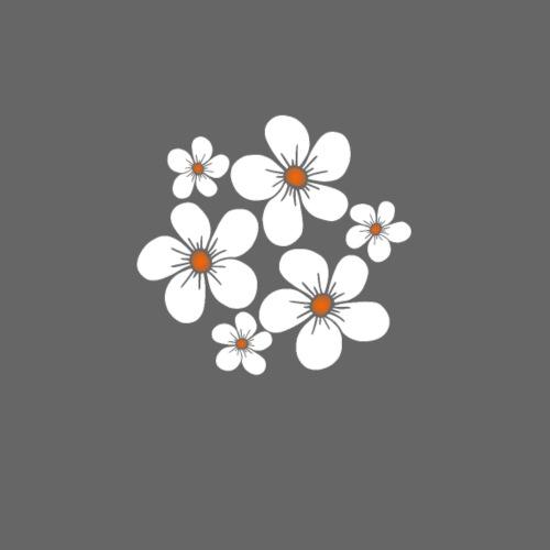 blühende weiße Blüten, Blumen, Blumenstrauß floral