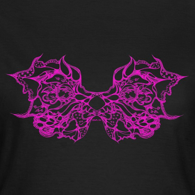 Magenta lace wings
