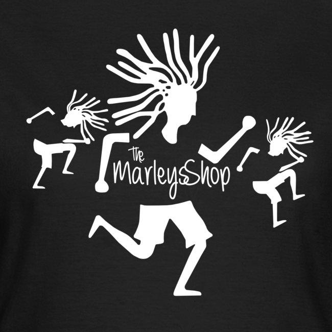 The marley shop logo MAIN ts white png