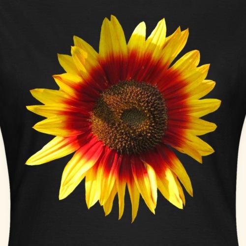 blühende Sonnenblume, Sonnenblumen, Blumen, Blüte - Frauen T-Shirt