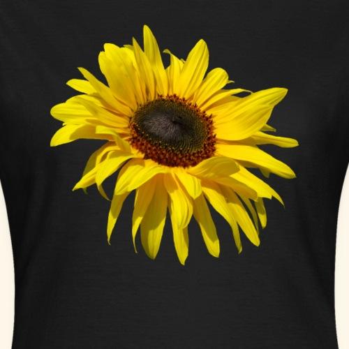 blühende Sonnenblume, Sonnenblumen, Blumen, Blüten - Frauen T-Shirt
