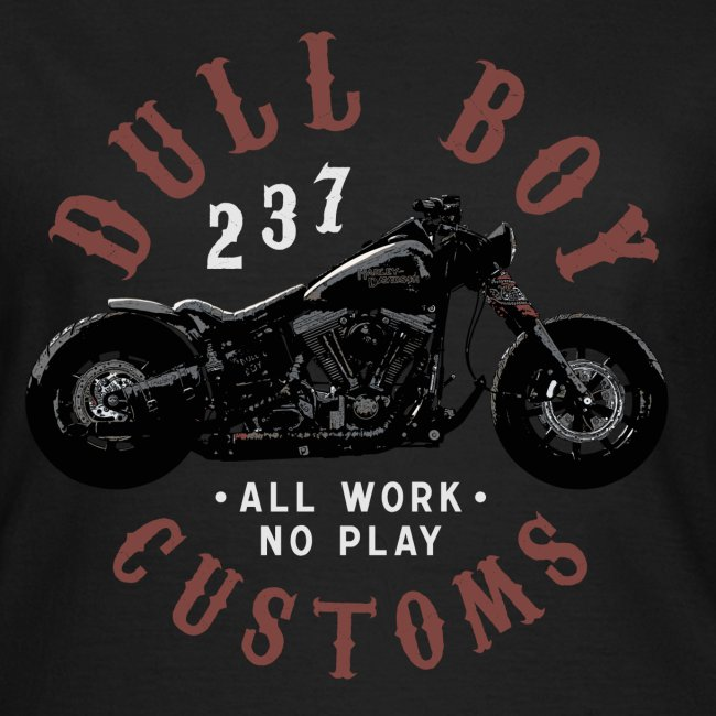 Dull Boy Customs white