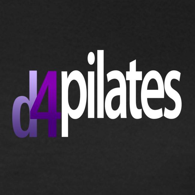 D4 Pilates - White logo