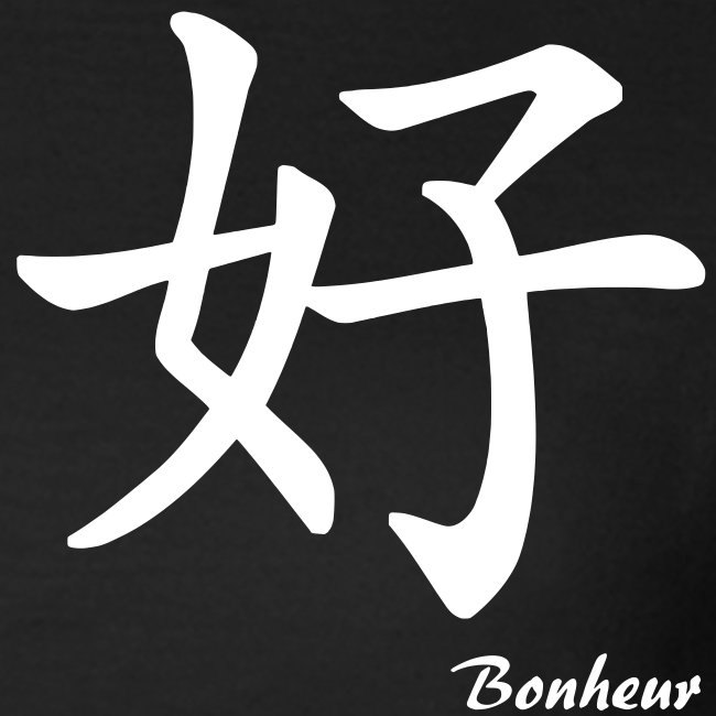 signe chinois bonheur