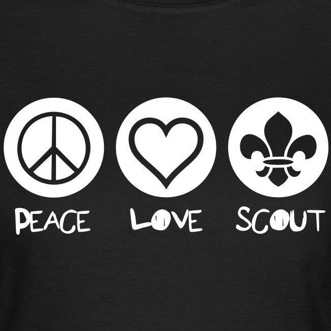 Peace Love Scout