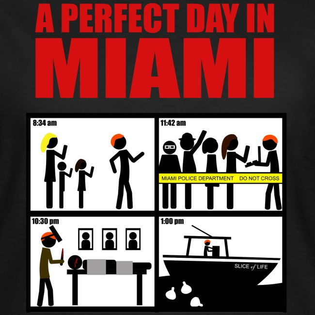 Dexter a perfect day in Miami