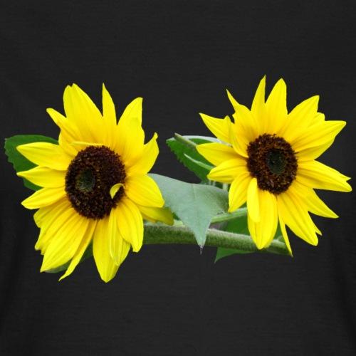 Sonnenblumen, Sonnenblume, Blumen, Garten, Natur - Frauen T-Shirt