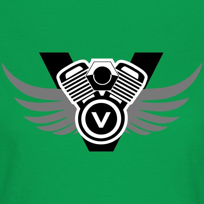 V is my favorite letter - Twin Motor