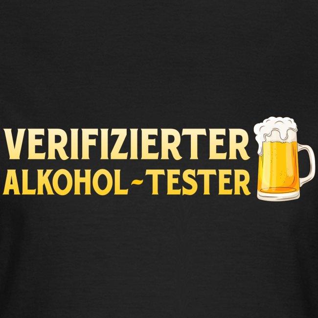 Verifizierter Alkohol-Tester