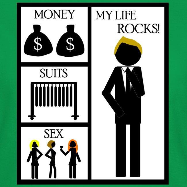 How I Met Your Mother money suits sex my life