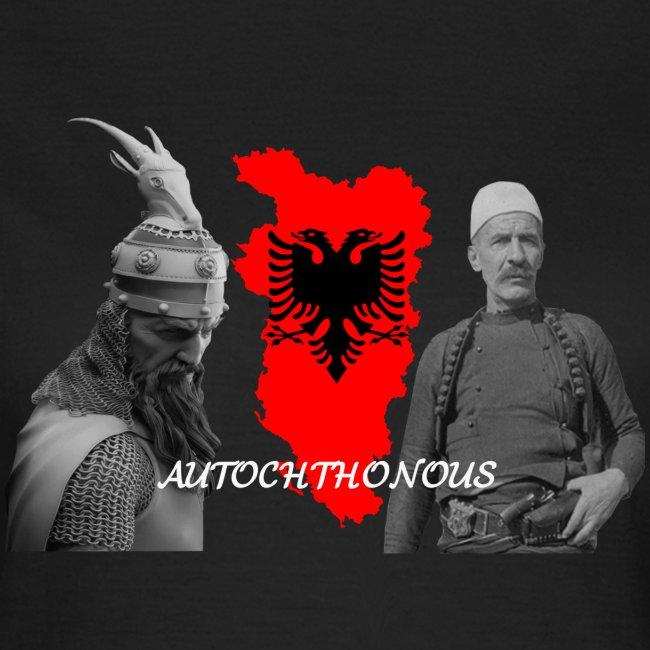 Autochthonous das Shirt muss jeder Albaner haben