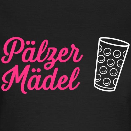 Pälzer Mädel Shirt mit Dubbeglas - Frauen T-Shirt