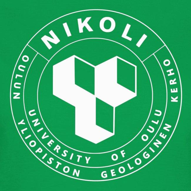 Nikolin valkoinen logo