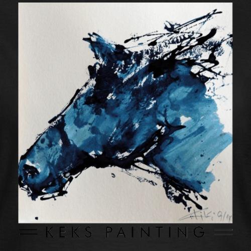 Der blau Pferdekopf - Frauen T-Shirt
