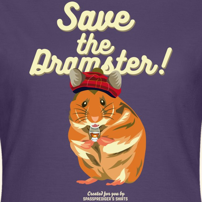 Whisky T Shirt Save the Dramster!