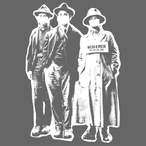 Mask or Jail - Women's T-Shirt
