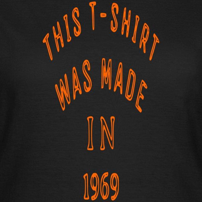 fabriqué en 1969